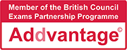 Member of the British Council Exams Partnership Programme - Addvantage
