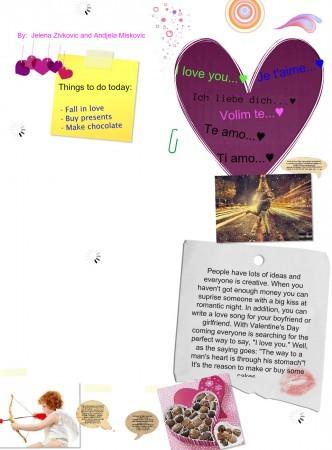 valentine's day by jelena&andjela