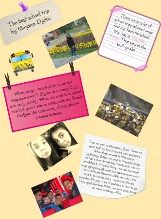 The Best School Trip by Mirjana