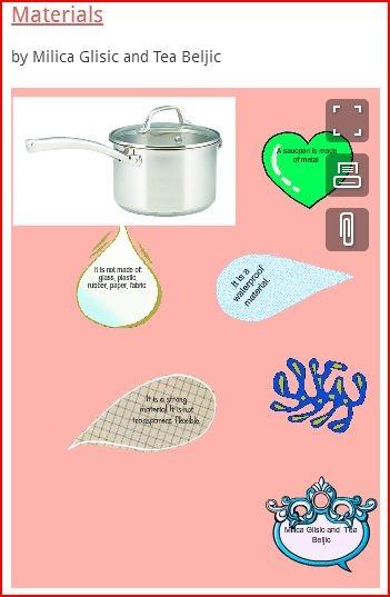 Materials by Milica&Tea