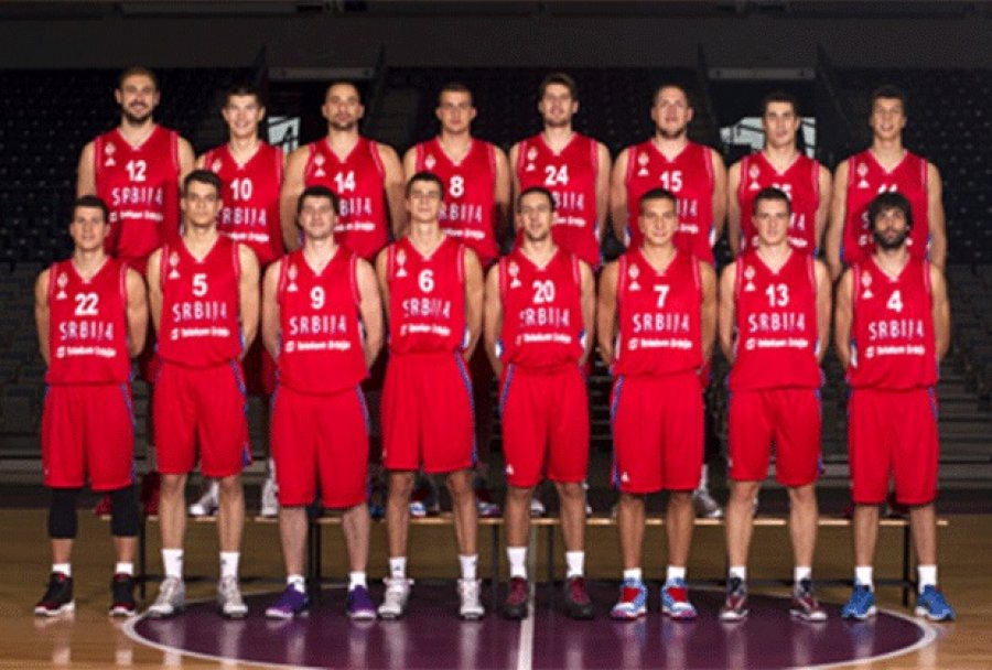 Serbian Baskeball Team