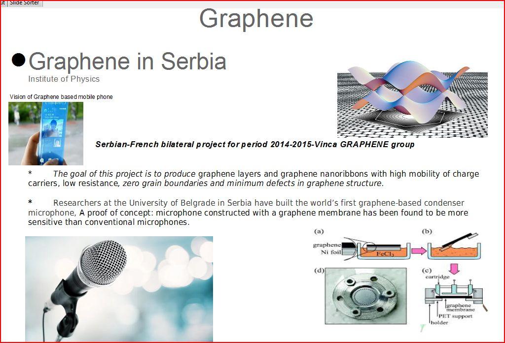 graphene in serbia by vlada petronijevic