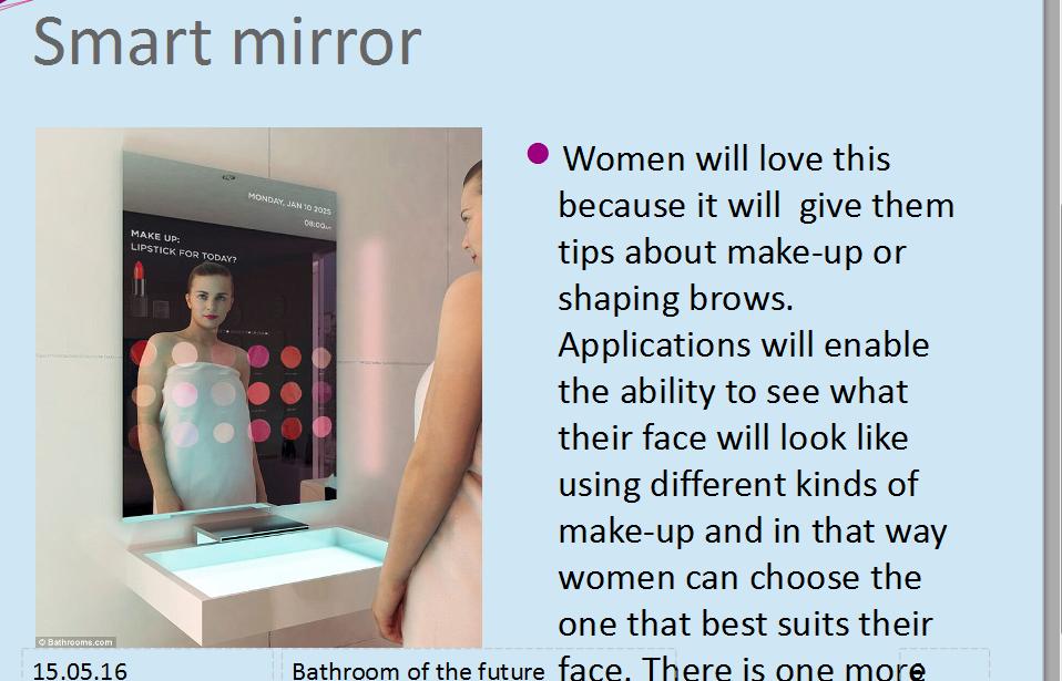 smart mirror
