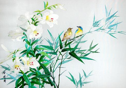 Les moineaux et les lys - Jang Sol Hwa