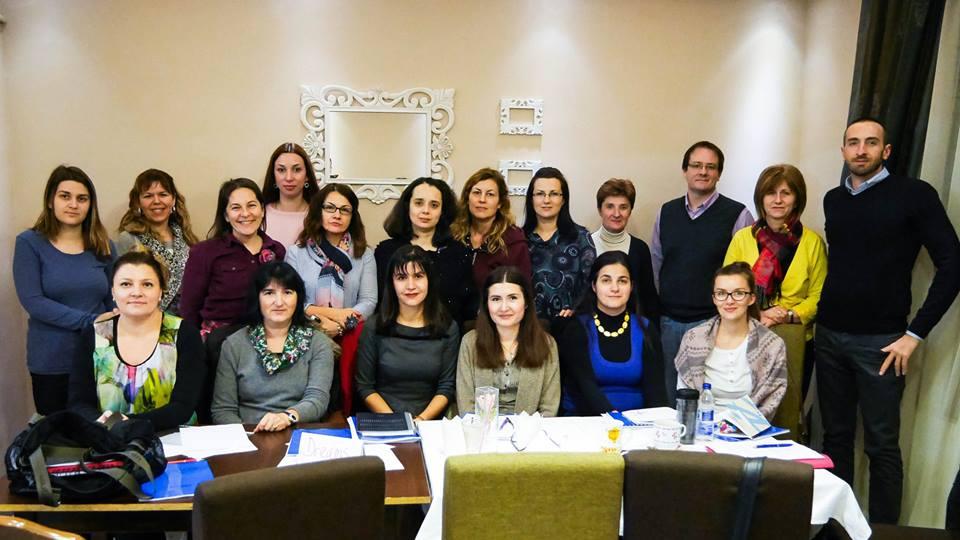 Lingva teachers at Creative Writing seminar